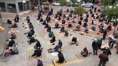 Photo of Araklı'da Cuma Namazı Kılındı