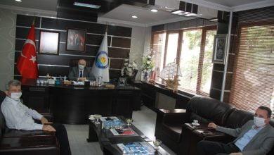 Photo of Çevre ve Şehircilik Trabzon İl Müdürü Korkmaz, Başkan Çebi'yi Ziyaret Etti