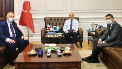 Photo of Başkan Çebi İçişleri Bakanı İle Görüştü