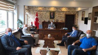 Photo of Başkan Çebi Göreve Başlayan Araklı Kaymakamı Karaca'yı Ziyaret Etti