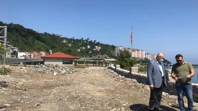 Photo of Başkan Çebi Sahilde Yapılan Çalışmaları İnceledi