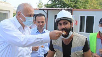 Photo of Başkan Çebi Türkiye'nin Gündemine Oturan İnşaat İşçileriyle Bir Araya Geldi