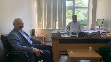 Photo of Başkan Çebi'den Hakim Aktaş'a Ziyaret