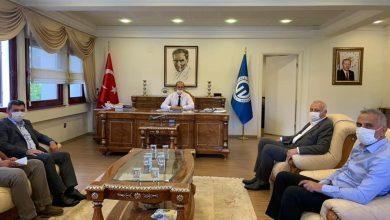 Photo of Başkanlardan KTÜ Rektörlüğüne Hayırlı Olsun Ziyareti