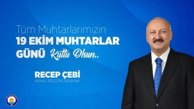 Photo of Başkan Çebi'nin 19 Ekim Muhtarlar Günü Mesajı