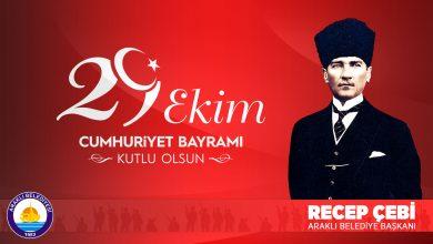 Photo of Başkan Çebi'nin 29 Ekim Cumhuriyet Bayramı Mesajı