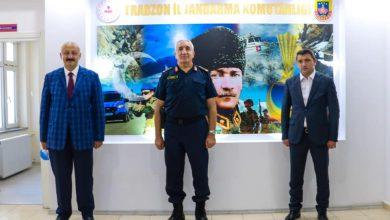 Photo of Başkanlardan Trabzon İl Jandarma Komutanına Ziyaret