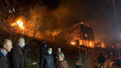 Photo of Taşgeçit Mahallesindeki Yangın Kontrol Altına Alındı