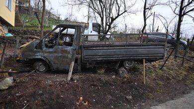 Photo of Başkan Çebi Kestanelik'te Yangın Bölgesinde