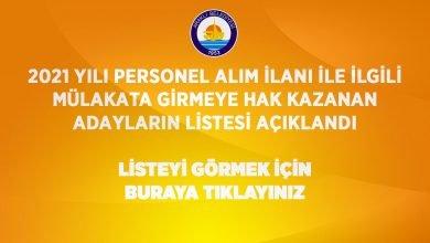 Photo of Mülakata Hak Kazananların Listesi