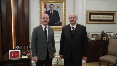 Photo of Başkan Çebi İçişleri Bakanı Sn. Süleyman Soylu ile Görüştü