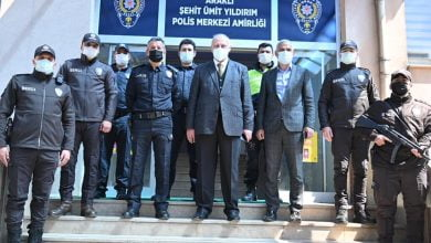 Photo of Başkan Çebi Emniyeti Ziyaret Etti