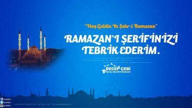 Photo of Başkan Çebi'den Ramazan Ayı Mesajı