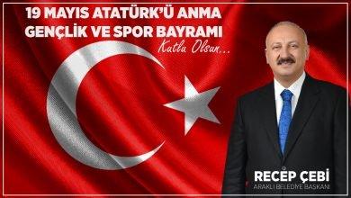 Photo of Başkan Recep Çebi'nin 19 Mayıs Mesajı
