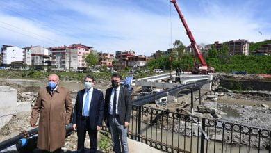 Photo of Sanayi Köprüsü Bitme Aşamasına Geldi