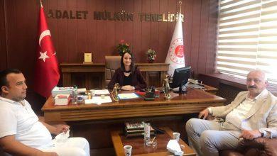 Photo of Başkan Çebi'den Yeni Cumhuriyet Başsavcısına Hayırlı Olsun Ziyareti