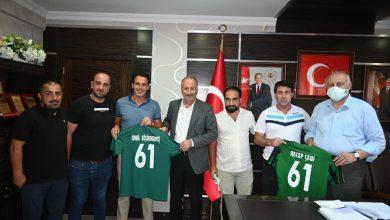 Photo of Araklı İdman Yurdu Spor Kulübünden Başkan Çebi'ye Ziyaret